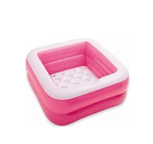 NOBRAND JYWJDH Inflables del Cuenca niños Bañera Bola Portable al Aire Libre Piscina Infantil Kid Juego de Agua Playa Home Juego (Color : Pink)