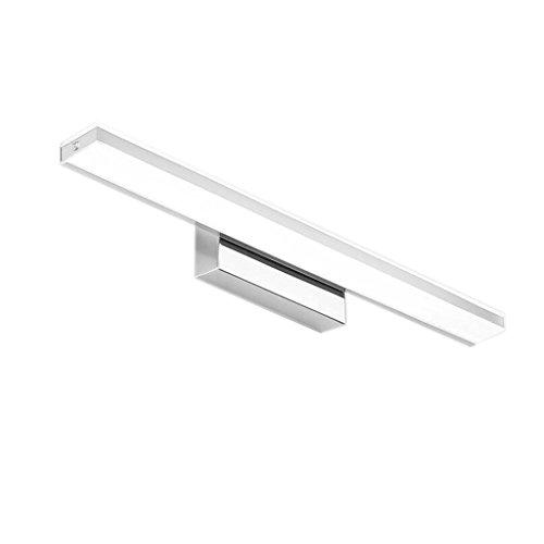 Badspiegel-Lampen, Wand-Anzeigen-Beleuchtung European Style Badezimmer Edelstahl LED Spiegel Frontlicht - Modern Fashion Wasserdicht Anti-Fog Make-up Wand Lampe von BZEI-Leuchten