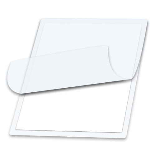 5 Mil Clear Letter Size Thermal Laminating Pouches 9 X 11.5 Qty 100 Hot Glossy Thermal Lamination Sheet Laminator Pockets 9x11.5