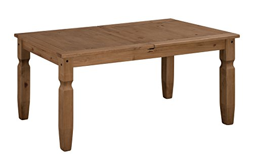 Mercers Furniture Corona Extending Dining Table - Pine, Small