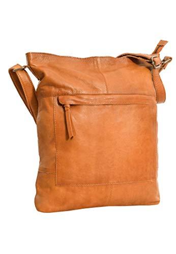 Gusti Handtasche Leder - Maola Ledertasche Umhängetasche Laptoptasche Braun Leder Damen