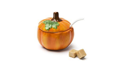 Excelsa Zucca Formaggera/Zuccheriera, Ceramica, Arancione, capacità: 200 ml