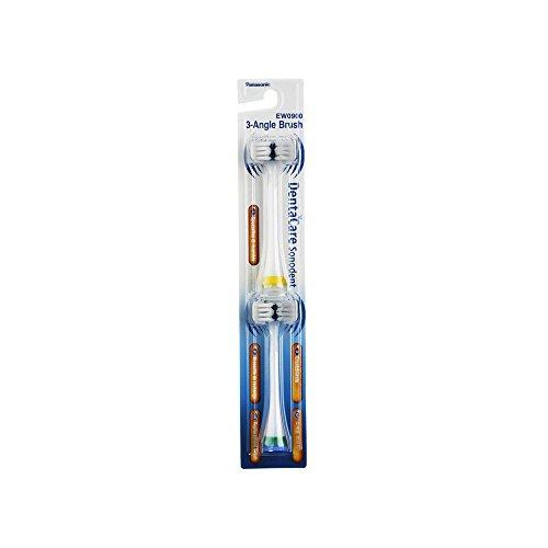 Panasonic Ersatzbürsten EW0900, 2 Stück, universell passend für alle Panasonic Schallzahnbürsten