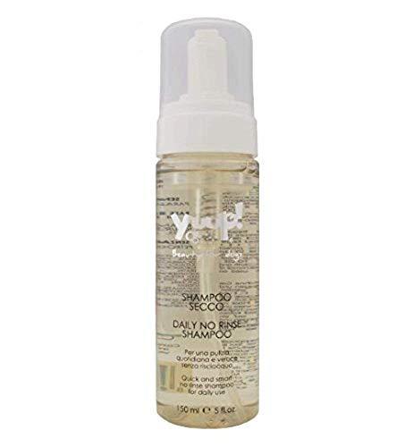 Yuup Shampoo Secco - Schiuma per una pulizia quotidiana e veloce senza risciacquo, per cani e gatti