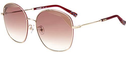 Sonnenbrillen Missoni MIS 0014/S Pale Gold/Red Shaded 59/17/145 Damen