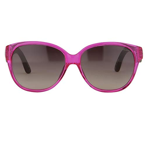 Oscar De La Renta Sonnenbrille, oval, rosafarbene und graue Gläser, ODLR30C6SUN