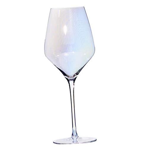 B Blesiya - Copa de Vino de Colores para Vino Tinto, Vino Blanco, Cristal, C