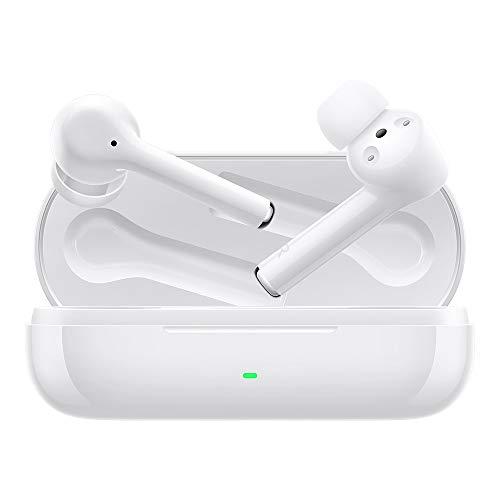 HUAWEI FreeBuds 3i True Wireless Kopfhörer mit Active Noise Canceling (Ultra schnelle Bluetooth-Verbindung, 10 mm Lautsprecher) Weiß