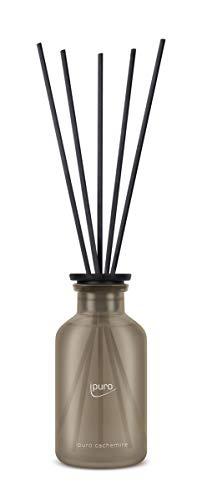 ipuro Classic cachemire Raumduft - Raumduft mit warmer und wohliger Wirkung - Lufterfrischer mit hochwertigen Inhaltsstoffen 240 ml - aus Glas mit Rattanstäbchen