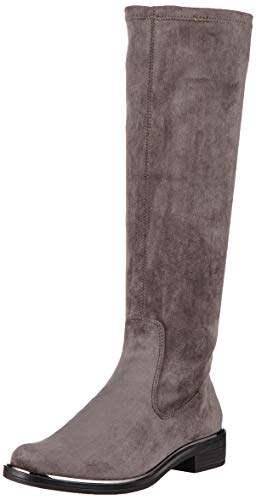 CAPRICE Damen Kania Hohe Stiefel, Grau (Dk Grey Stretch 250), 40 EU