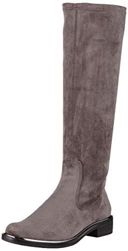 CAPRICE Damen Kania Hohe Stiefel, Grau (Dk Grey Stretch 250), 39 EU