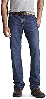 Ariat 10017262-36X32 FR M4 Low Rise Workhorse Boot Cut Jean, Blue, 36
