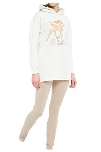 Bambi Damen Lang Pyjama Schlafanzug