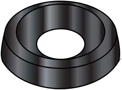 8 Countersunk Finishing Very popular Washer Black Oxide BC- 000 Qty Max 88% OFF Pack 10