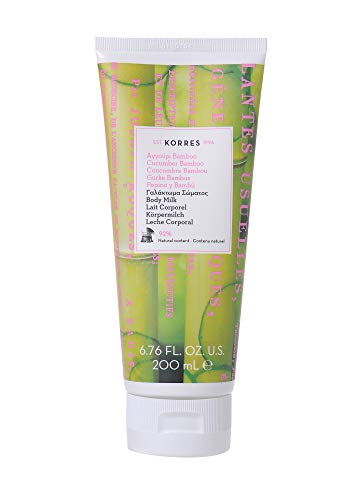 Korres Cucumber Bamboo Körpermilch, 1er Pack (1 x 200 ml)