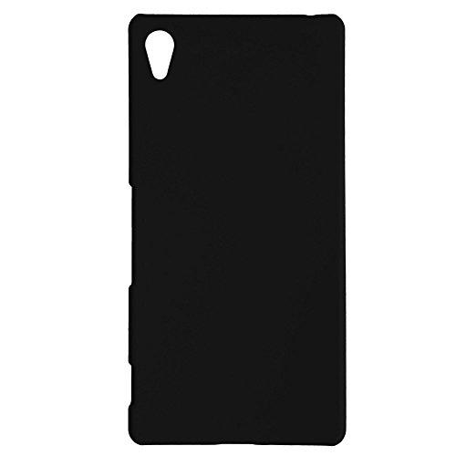 エクスペリアZ5 ケース XPERIA Z5 スマホケース 薄型 軽量 スリム フィット MY WAY DESIGN docomo SO-01H au SOV32 Softbank 501SO PC ハード素材 + 液晶 保護 フィルム 付属 Black
