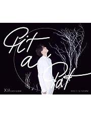 キム・ジュンス(XIA) - Pit A Pat (2NDミニアルバム/CD+ブックレット64P+フォトカード1種+ステッカー1種) ★★Kstargate限定★★