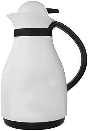 Preisvergleich für Metaltex 899274 Isolierkanne Apollo mit Glaseinsatz, 1,0 L