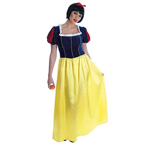Fun Shack Déguisement Princesse Neige Adulte, Déguisement Halloween Femme en Taille XL