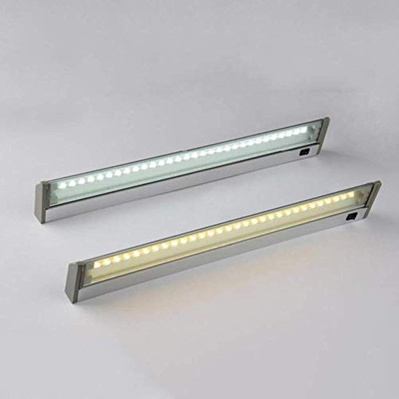 Hauptbadezimmer-Spiegel-Scheinwerfer-Badezimmer-Beleuchtung-Aluminiumspiegel-Frontlicht führte Wasserdichte super helle Winkel-Justierbare Wand-Lampen-Birne, Spiegel-Scheinwerfer eingeschlossen