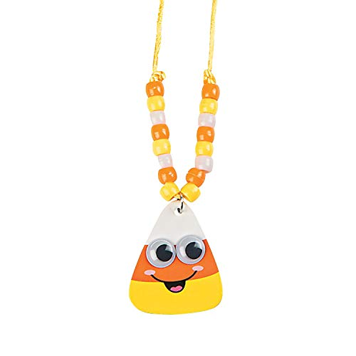 candy corn necklace - 5