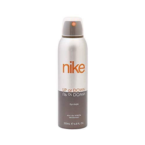 Nike Up Or Down Silver Deo For Men, 200ml