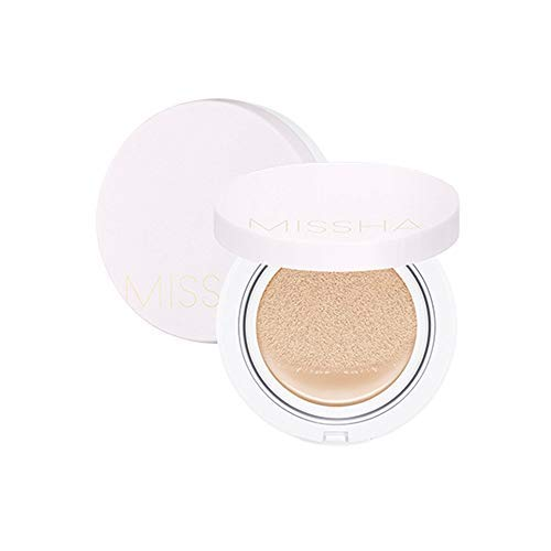 [MISSHA] Magic Cushion Cover Lasting Foundation SPF50+/PA+++, 21 Light Beige 15 g,