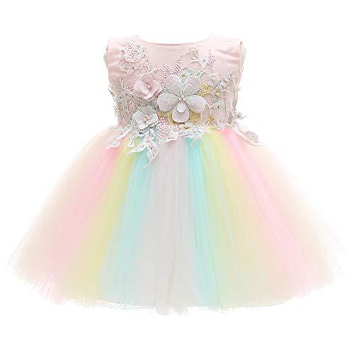 Meiqiduo Baby Girls Dress Infant Christening Birthday Wedding...