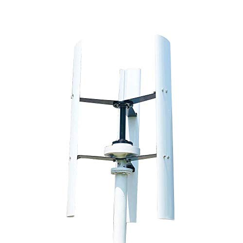 FLYT 600W 48V Vertical Wind Turbine Generator Home Use Windmill Power Generator with MPPT Controller