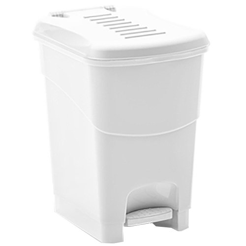 Cheapest Prices! Kis Koral Waste Container, White, 16 Litre