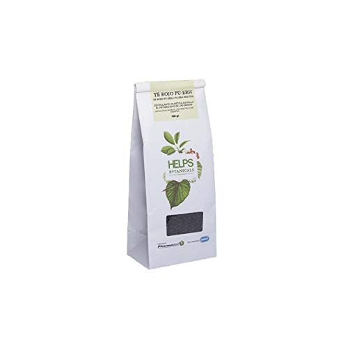 HELPS INFUSIONES - Té Rojo Pu Erh A Granel 100% Natural. T