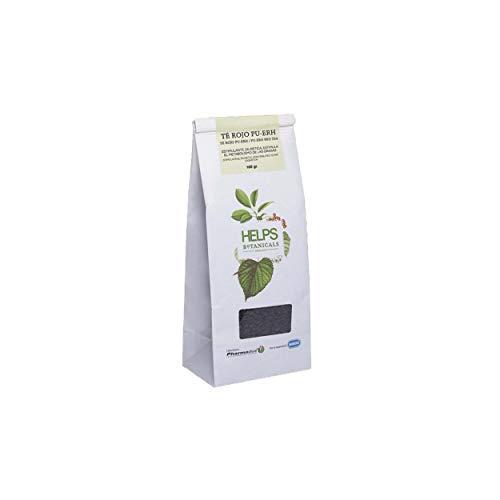 HELPS INFUSIES - 100% natuurlijke Pu Erh rode thee in bulk. Afslankende, diuretische en vetverbrandende thee. 100 gram bulkzak.