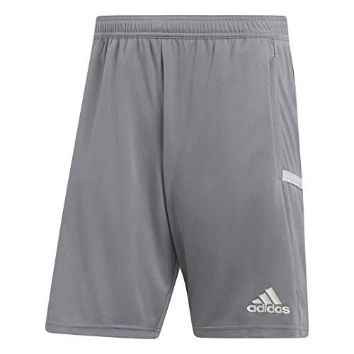 adidas Team 19 Three-Pocket Short - Men's Multi-Sport M Grey/White