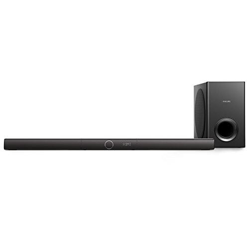 Philips HTL3170B/37 Soundbar Speaker with Wireless Subwoofer (Black)