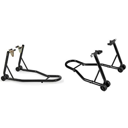 chengshiandebaihu Motorrad Ständer Set vorne/hinten Montageständer Heber (2 Stück)