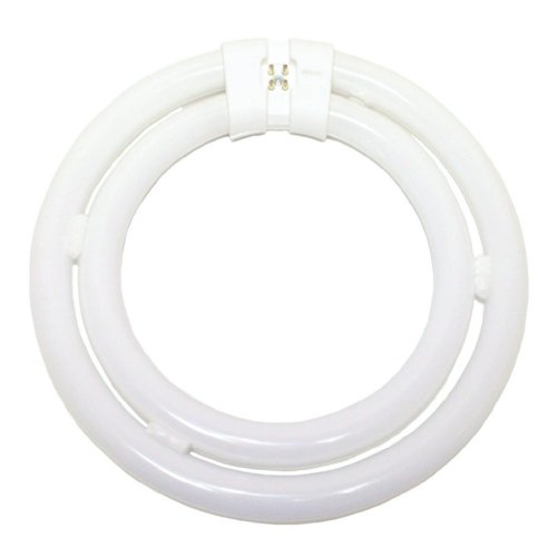 TCP 32058 T6 Circline Double Lamp Compact Fluorescent Lamp 58 Watt 4-Pin Base 82 CRI 2850K