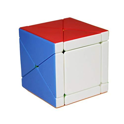 OJIN MoYu MOFANGJIAOSHI CUBING CLASSROOM MFJS Fisher Skewb Cube Cubo creativo Smooth Cube Puzzle (Sin Etiquetas)