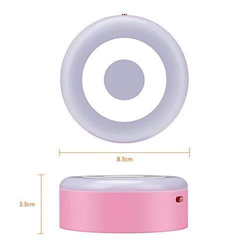 GKJRKGVF traploos dimbaar nachtlampje met krachtige USB-ledmagneten en geïntegreerde warm-/koudverlichting.