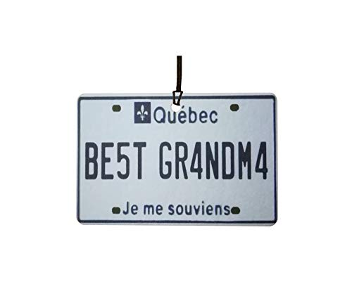 Ali Air Freshener Quebec - Best Grandma Nummernschild Auto Lufterfrischer