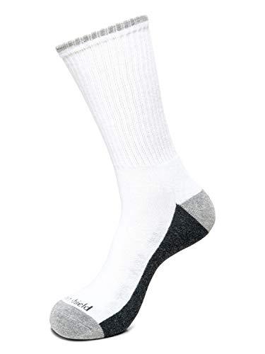 Insect Shield Sport Crew Sock, White, Medium (9-11)
