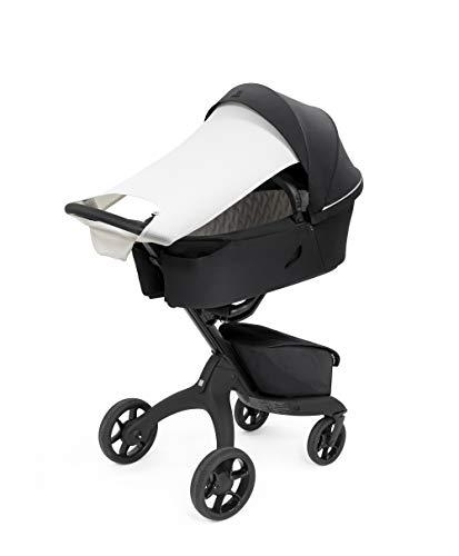 Stokke Xplory X Sonnensegel für Kinderwagen - Sonnenschutz für unterwegs - Farbe: Light Grey