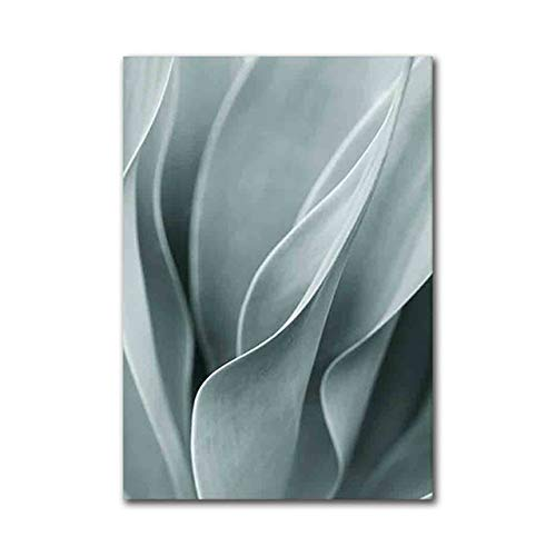 Palm Leaf Plant Art Canvas Painting Aloe Plant Posters and Prints for Home Decoration 21x30cm