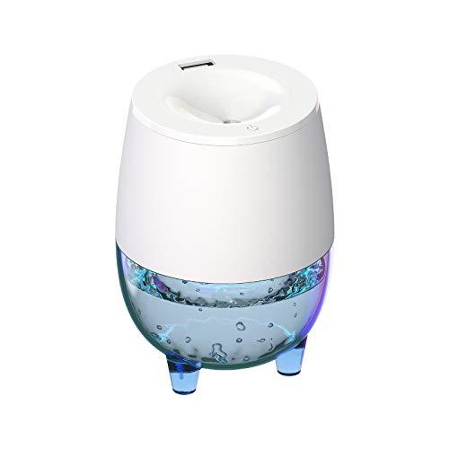 ZPL Aire Humidificador Mudo Mesa Lámpara USB Transparente Mini Humidificador Pequeño Mini Hogar Escritorio Aromaterapia Máquina