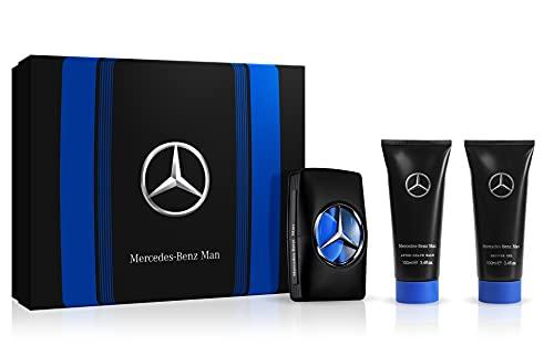Mercedes Benz Man 2019 For Men 3-teiliges Geschenkset 30 ml Edt Spray, 30 ml Duschgel, 30 ml After Shave