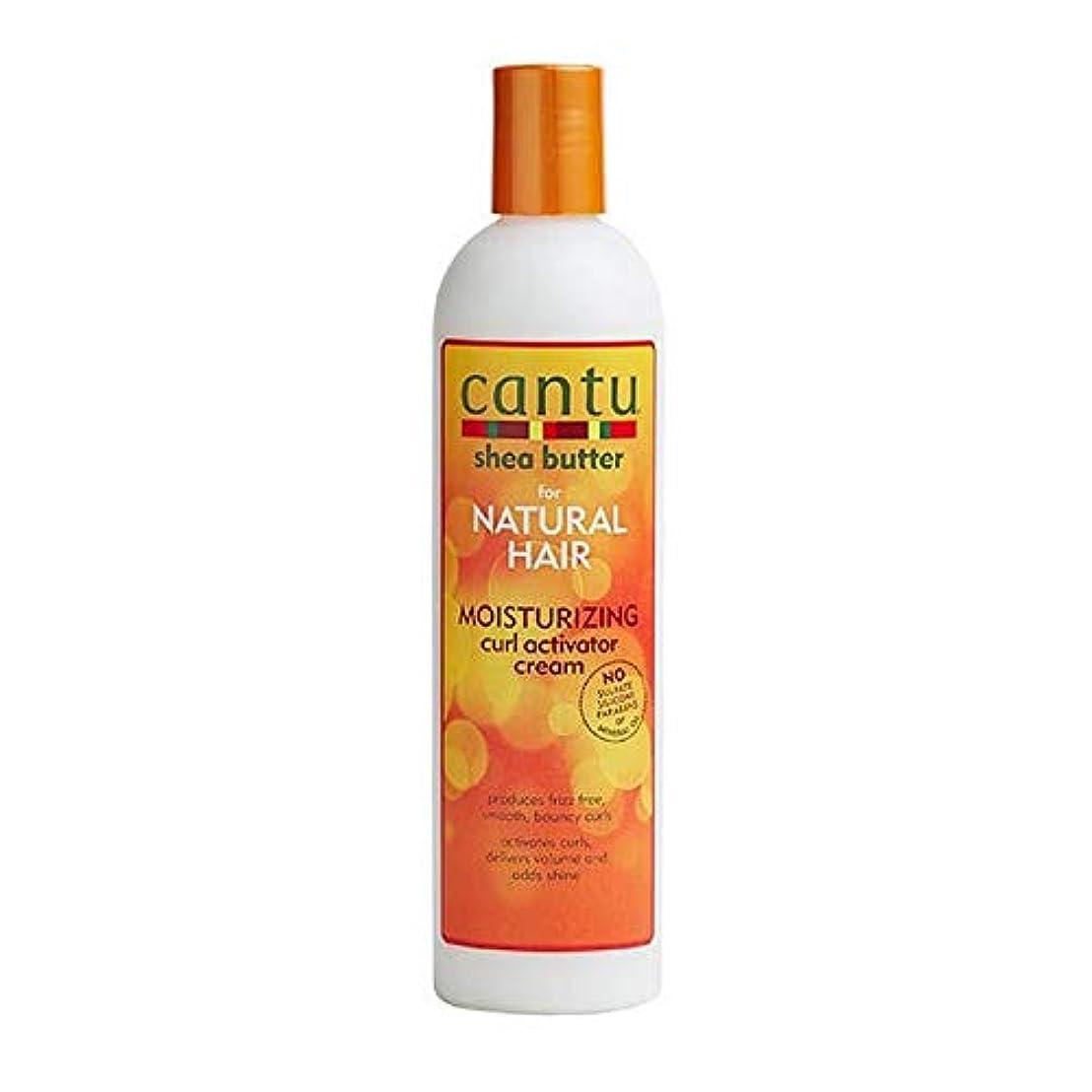 トースト鰐潮[Cantu ] カールアクチベータークリーム355ミリリットル保湿カントゥ自然な髪 - Cantu Natural Hair Moisturizing Curl Activator Cream 355ml [並行輸入品]