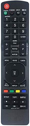 Neue Ersatzfernbedienung für LG TV-Fernbedienung AKB72915207 Für Verschiedene LG-Fernseher geeignet - Keine Einrichtung erforderlich TV-Universalfernbedienung 37LD465 42LD420 42LD420 32LD465 32LE3300