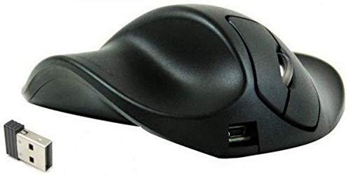 Hippus LS2UL Wireless Light Click HandShoe Mouse (Left Hand, Small, Black)