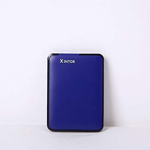 ShiningXX - Disco duro externo de 2,5 pulgadas (USB 3.0, alta velocidad, ultrafino) para ordenadores portátiles de sobremesa