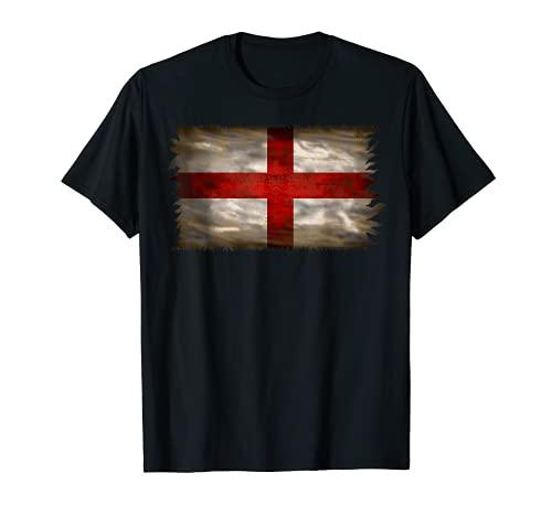 Camiseta de fútbol de Inglaterra Bandera de país Fan Camiseta