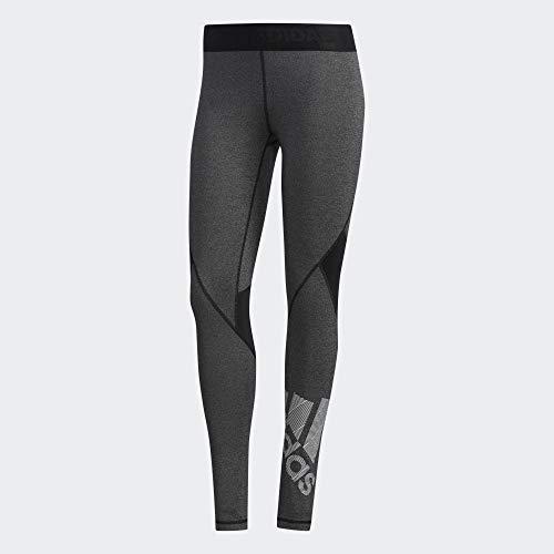 adidas EB3845, Pants Donna, Black/Heather, XS